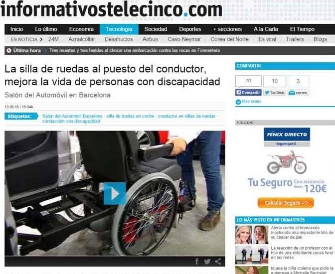 Imatge article sobre ARC a la web d'informatius telecinco