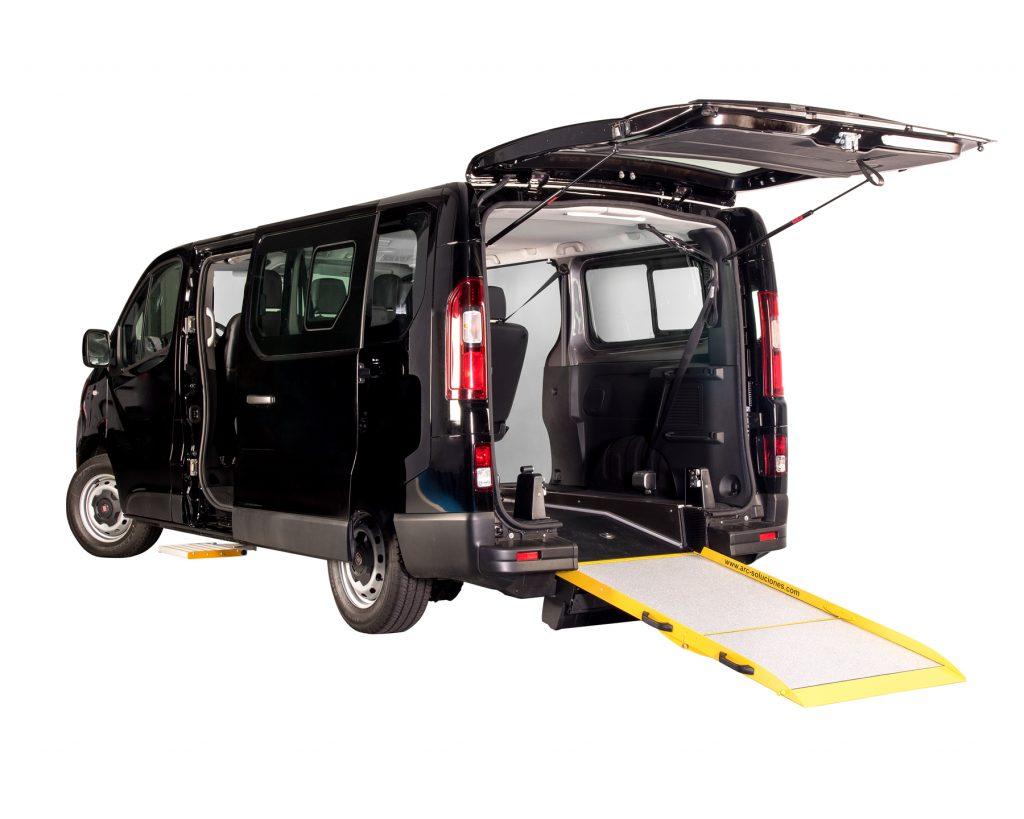 Imagen de taxi con adaptación ARC, rebaje de suelo
