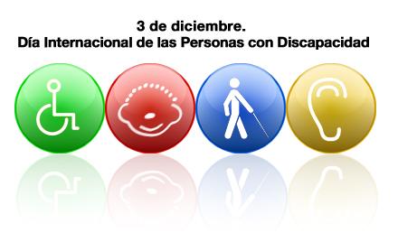 Imagen cartel sobre el día internacional de las personas con Discapacidad