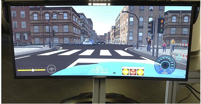 Imagen de sistema de conducción virtual