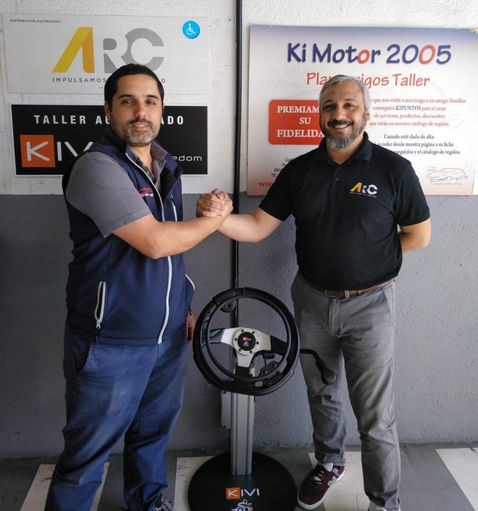 Foto asociación taller KiMotor con ARC