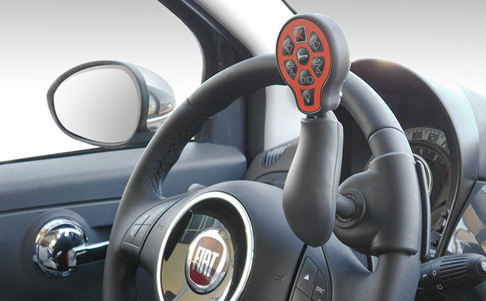 Imagen monomando para el volante