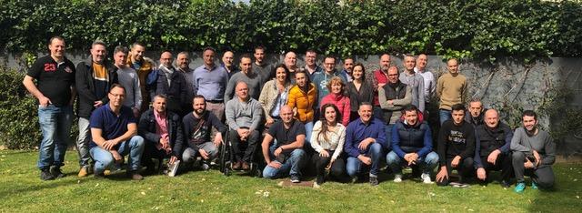 Foto de grupo de la formación ARC